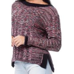 Blusa tricot fios mulet trança